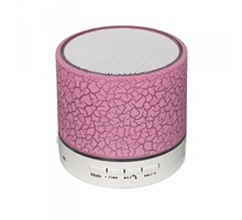 LED mini bluetooth reproduktor; růžový
