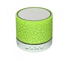 LED mini bluetooth reproduktor; zelený